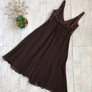 Jones New York brown cocktail dress size 4